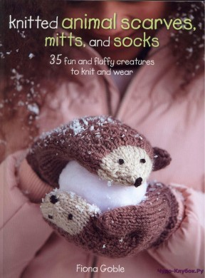 Knitted Animal Scarves, Mitts and Socks 2015