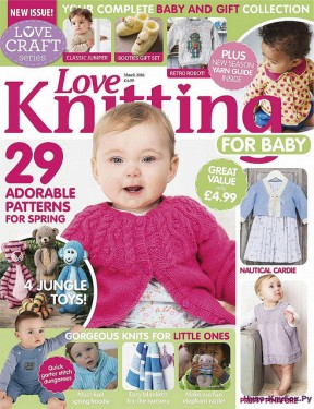 Love Knitting for Babies March - 2016