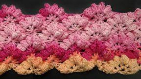 Красивый узор крючком Nice crochet pattern 80