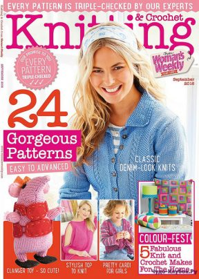 Knitting & Crochet from Womans Weekly 2016