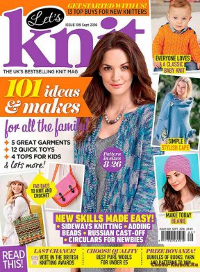 Let's Knit 109 2016