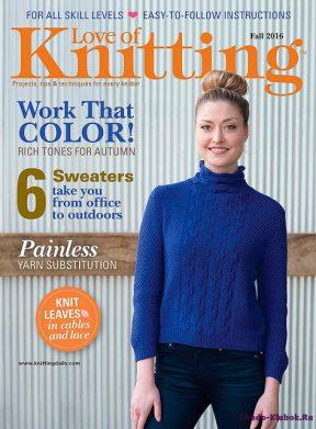 Love of Knitting Fall 2016