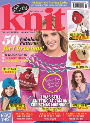 Let's Knit November 2016