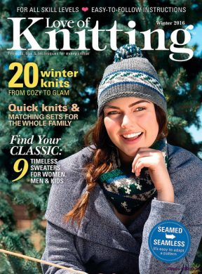 Love of Knitting Winter 2016