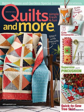 Quilts and More Winter 2016