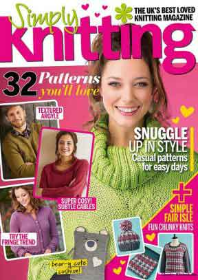 Simply Knitting February 2017